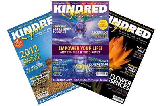Kindred Spirit Magazine Spread