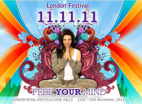 Mind Body Spirit Show 11-13th November 2011