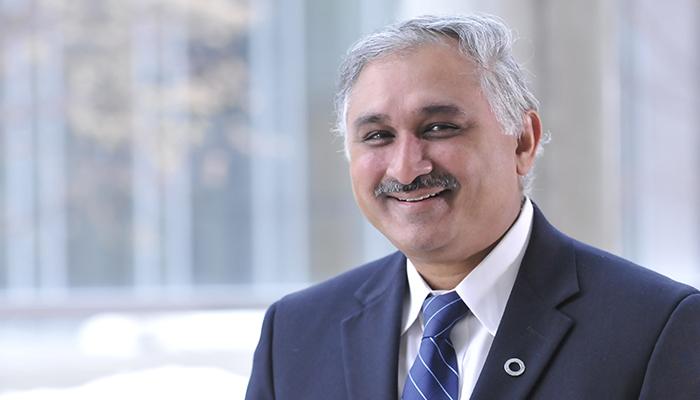Parameswaran Nair, professor of medicine at McMaster and staff respirologist at St. Joseph's Healthcare Hamilton