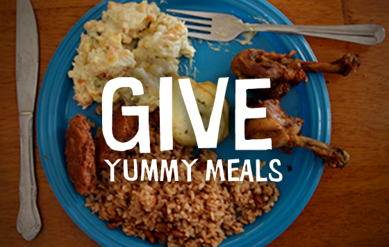Visit our website to give meals to orphaned children.