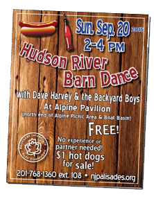 Hudson River Barn Dance flyer