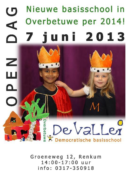 Flyer Open Dag 7 juni 2013