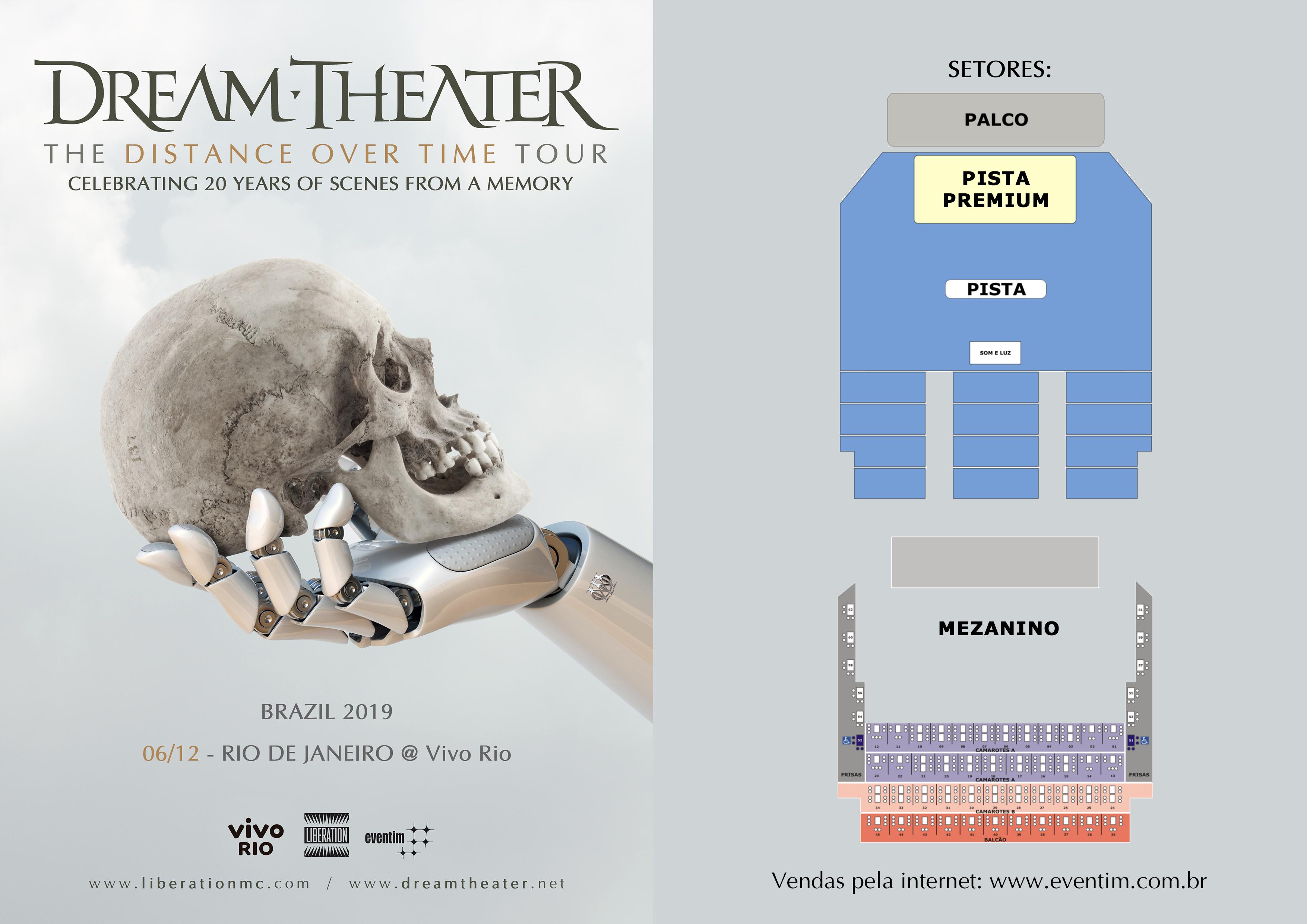 Dream Theater Rio de Janeiro 2019
