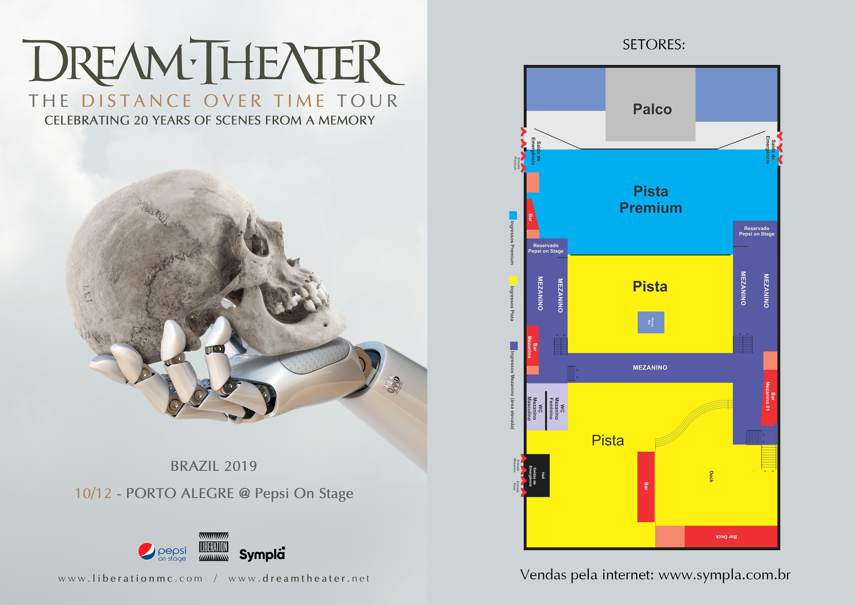 Dream Theater Porto Alegre 2019