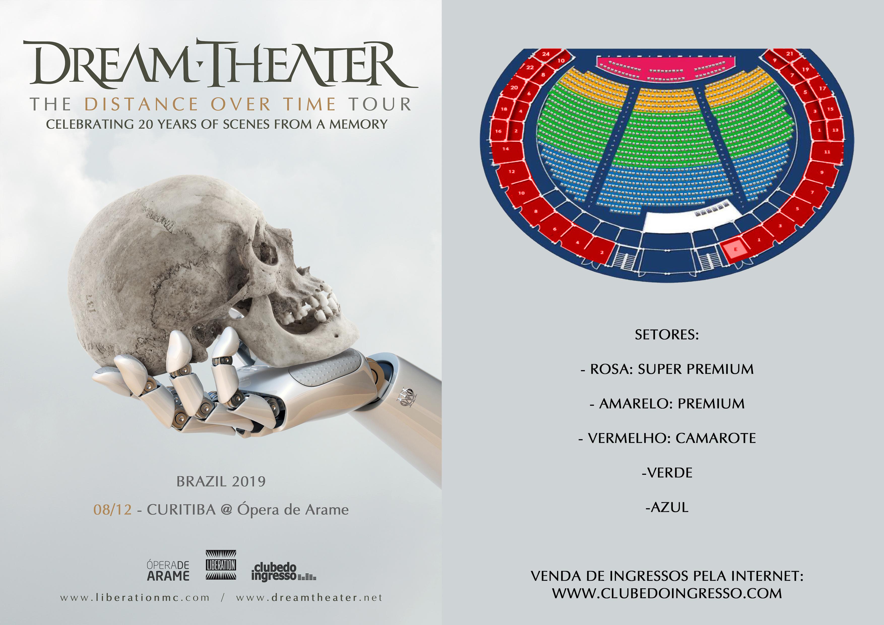 Dream Theater Curitiba 2019