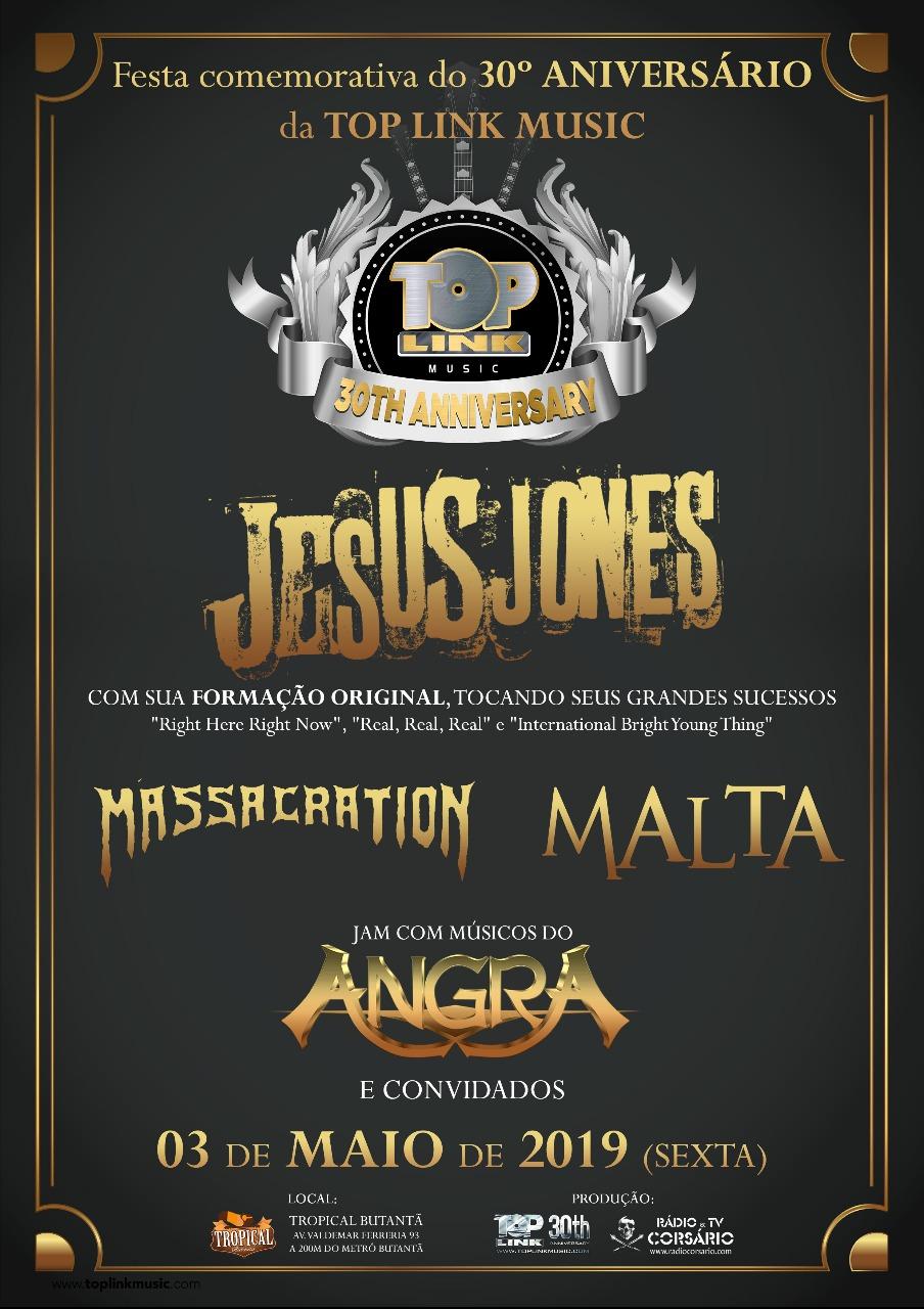 Atração do lendário Hollywood Rock 92, Jesus Jones se apresenta, nesta sexta-feira, com formação original, em São Paulo