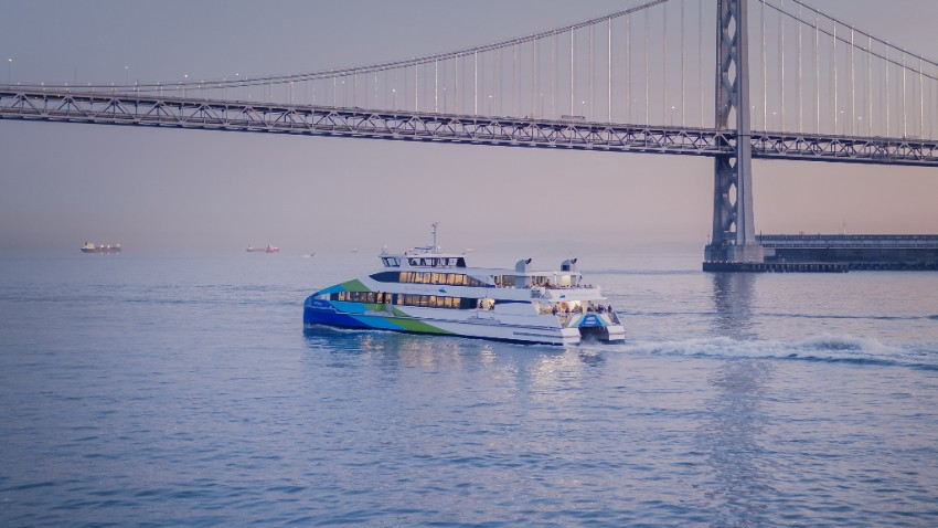 bay area commute ferry
