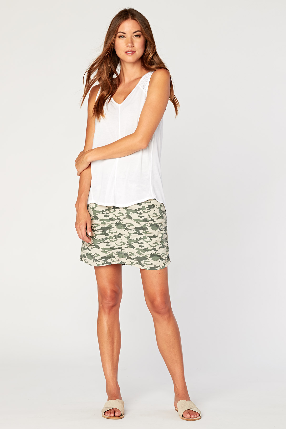 Solid Trace Skirt in Northstar Camo »