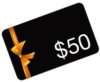 $50 Amazon.com Gift Card. Promo code: 5CZZ