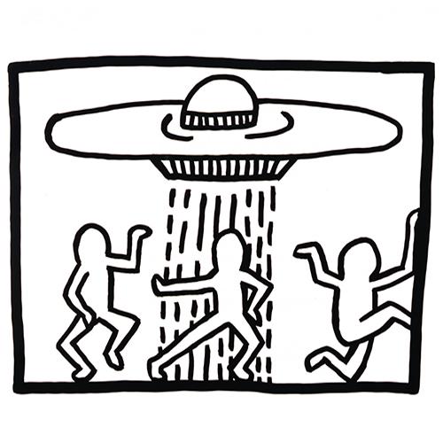 Kunstwerk van Keith Haring