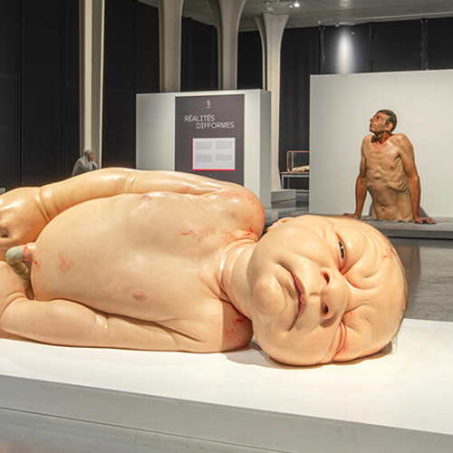 beeld uit de expo 'hyperrealism'