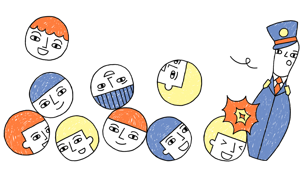 Illustratie over klasmanagement