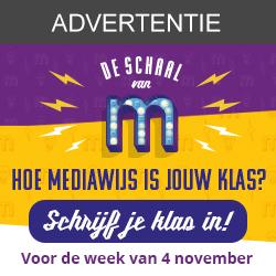 Schrijf je klas nu in op www.deschaalvanm.be
