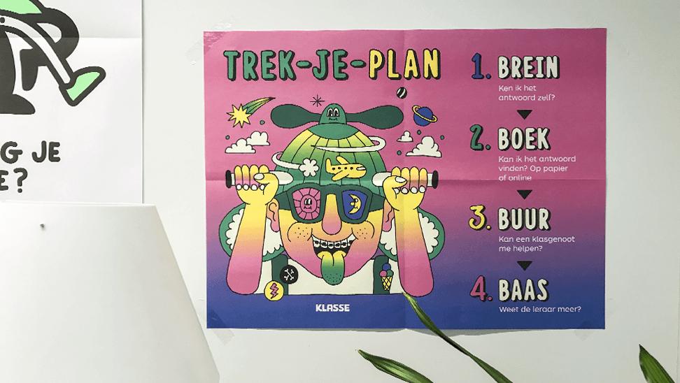 Poster over zelfsturing