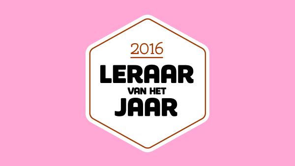 logo leraar van het jaar