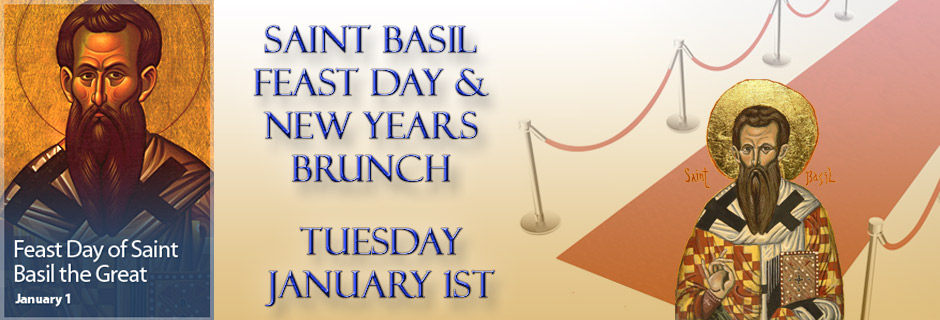 Feast Day of St Basil and New Year's Brunch