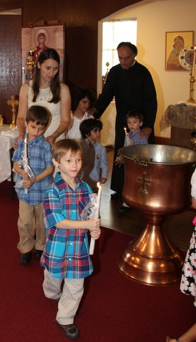 Holy Orthodox Baptism