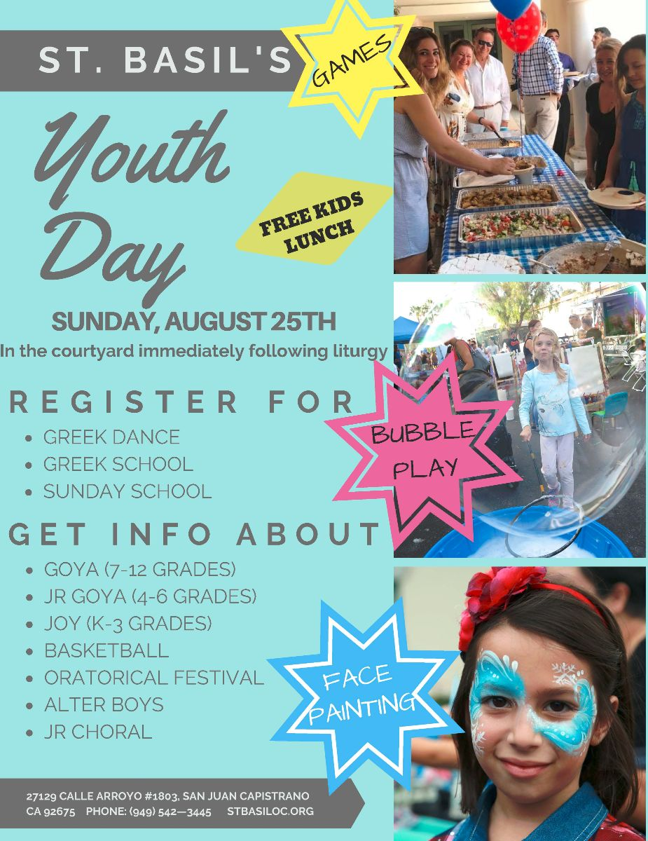 St Basil's Youth Day