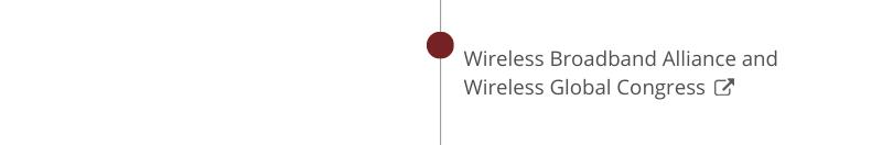 Wireless Broadband Alliance and Wireless Global Congress