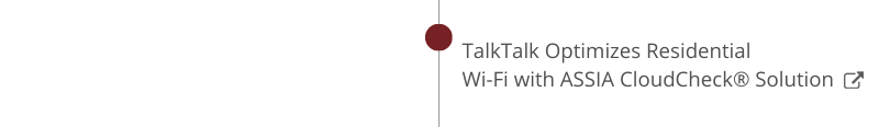 TalkTalk Optimizes Residential  Wi-Fi with ASSIA CloudCheck® Solution