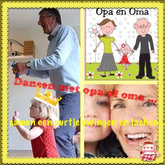 Dansen met Opa en oma in Dreumeland Leidsche Rijn