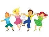 kleuterdans en dans voor scholieren in Dreumeland