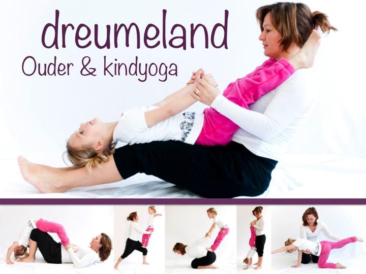 yoga met je kind in Dreumeland Leidsche Rijn
