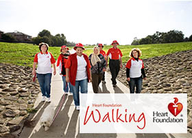 Heart Foundation Walking Celebrating May 2015 Heart Week with Walks