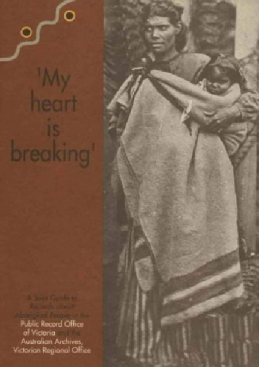 Cover of original edition of 'My heart is breaking'