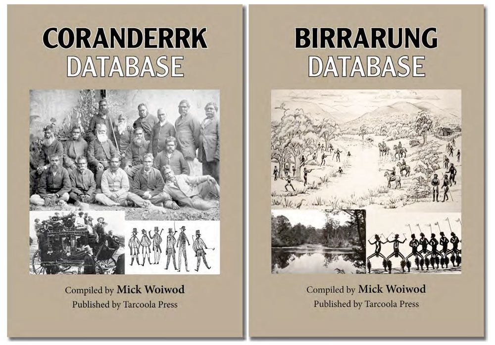 Cover of new publications and databases from Nillumbik Reconciliation Group