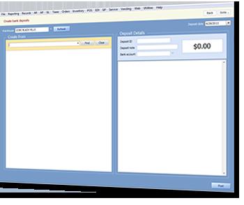 New Deposits Screen