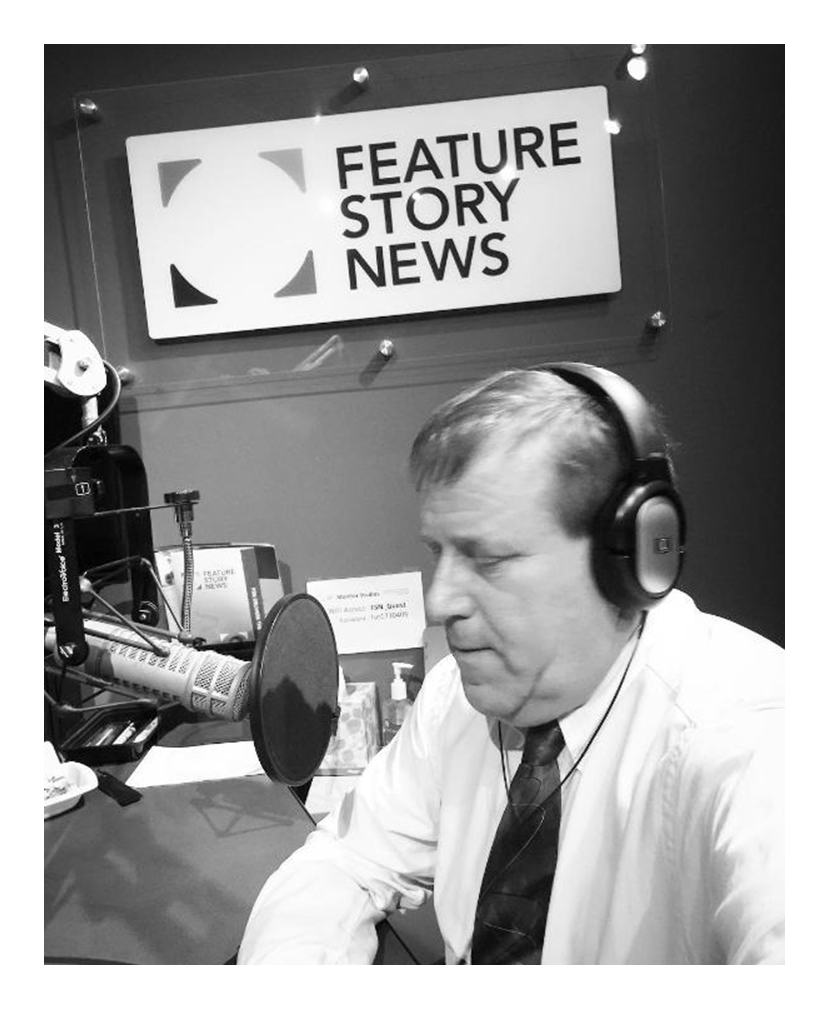 Shawn Yardley photographed while participating in the Maine Calling program