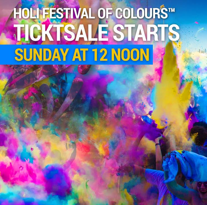 Holi Festival of Colours Amsterdam