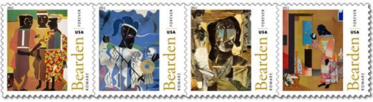 Romare Bearden stamp series