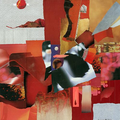 """Heartfelt,"" collage by Janice McDonald"