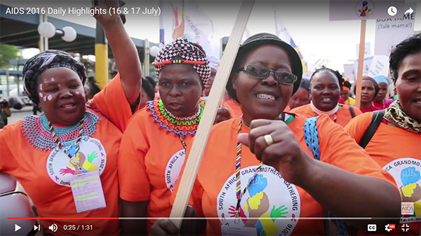 AIDS 2016 Daily Highlights (16 & 17 July)