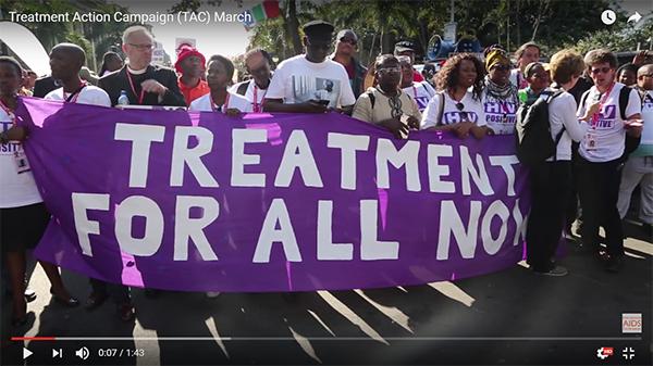 Treatment Action Campaign (TAC) March