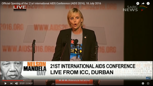 Official Opening of the 21st International AIDS Conference (AIDS 2016), 18 July 2016