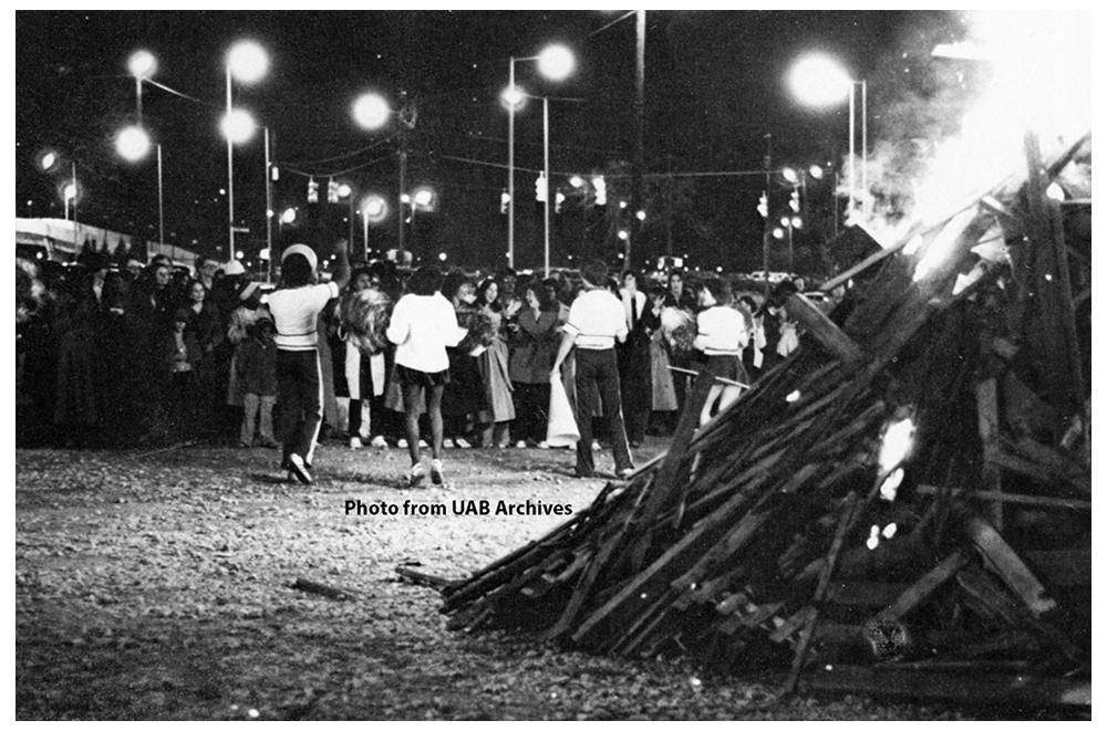 Homecoming Bonfire, 1979