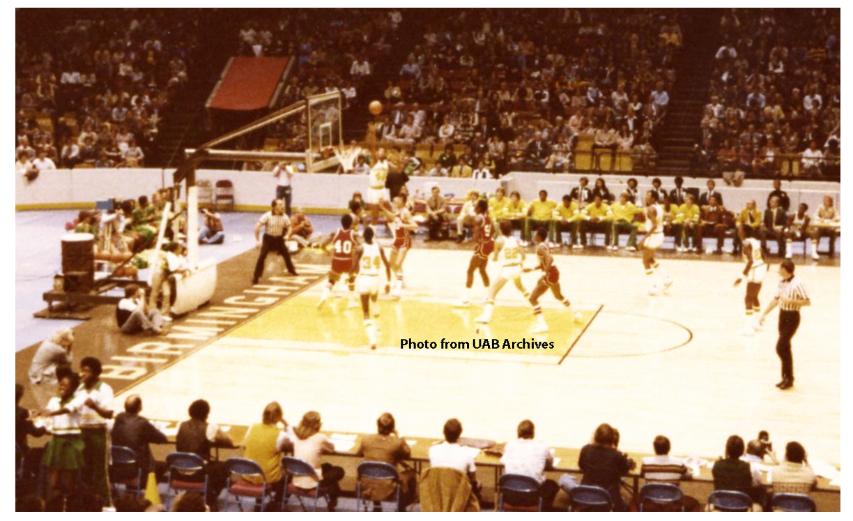UAB Basketball Game, 11/24/1978