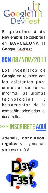 DevFest Google Barcelona