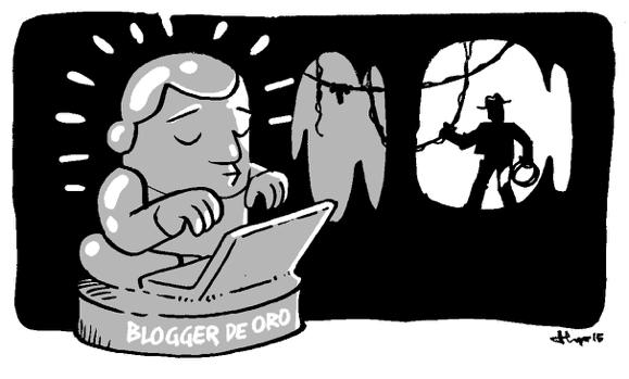 La Leyenda del Blogger de Oro