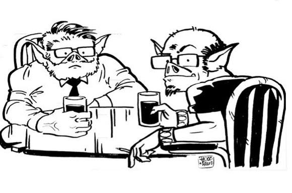 café en Mordor
