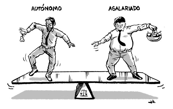 #AutonomoVsAsalariado