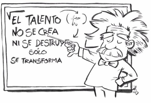 el talento no se crea