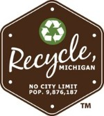 Recycle, MI logo