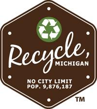 Recycle, MI logo