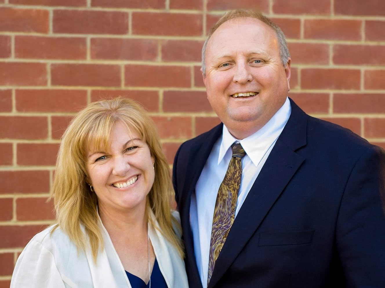 Steve Marijanich and his wife, Kym Marijanich.
