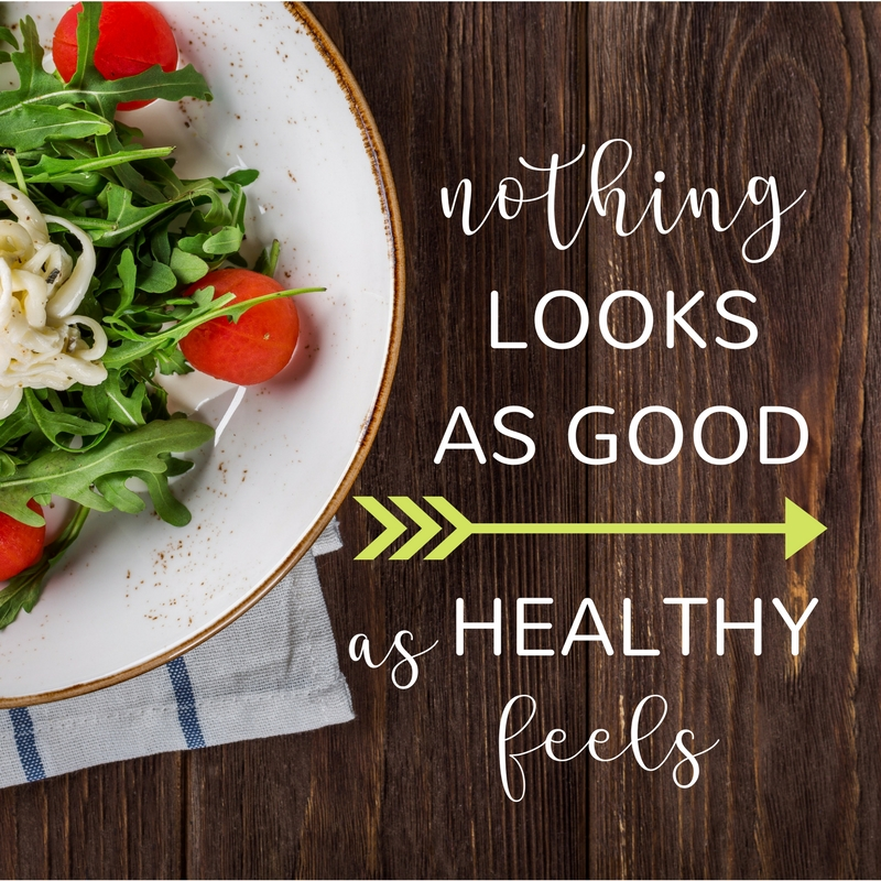 look feel healthy