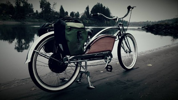 Chopper-Charger electric bicycle